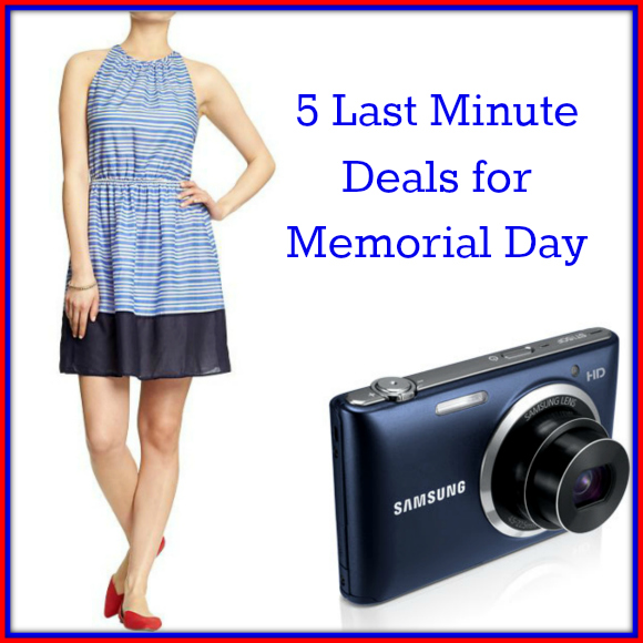 5 Last Minute Deals for Memorial Day
