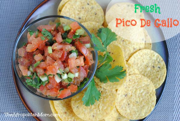 Fresh Pico De Gallo