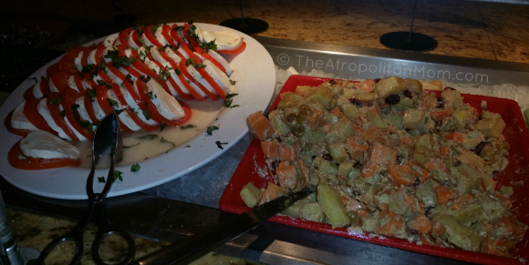 Cheese and Tomato Salad at Goofy's Kitchen - Disneyland