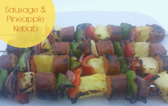 Sausage and Pineapple Kebab #JvilleRecipes #recipe #Summerrecipes