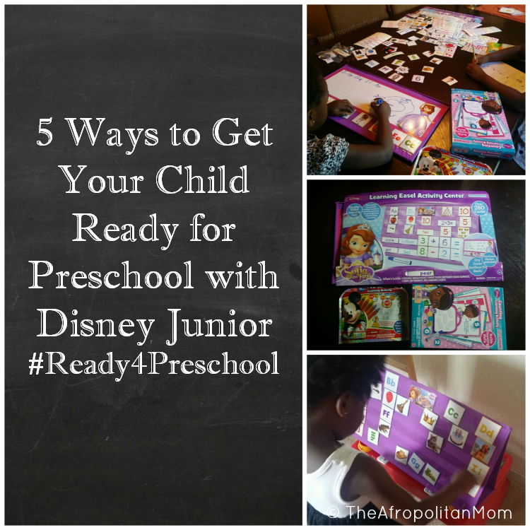 5 Ways to Get Your Child Ready for Preschool with Disney Junior #Ready4Preschool #shop
