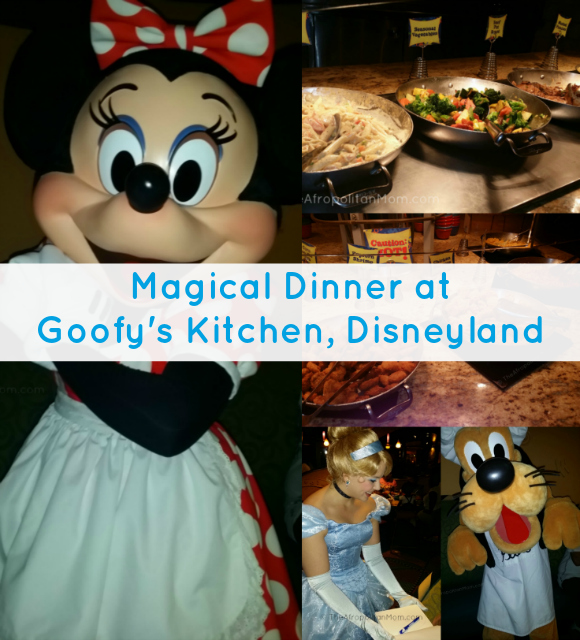 Magical Dinner at Goofy's Kitchen, Disneyland, CA