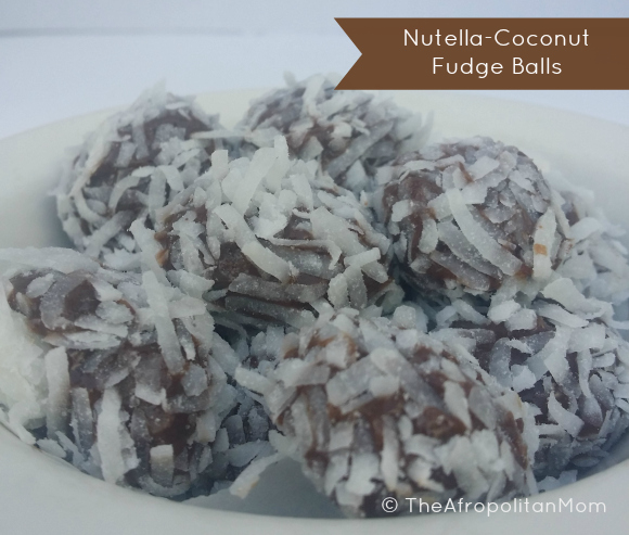 Nutella-Coconut Fudge Balls Recipe
