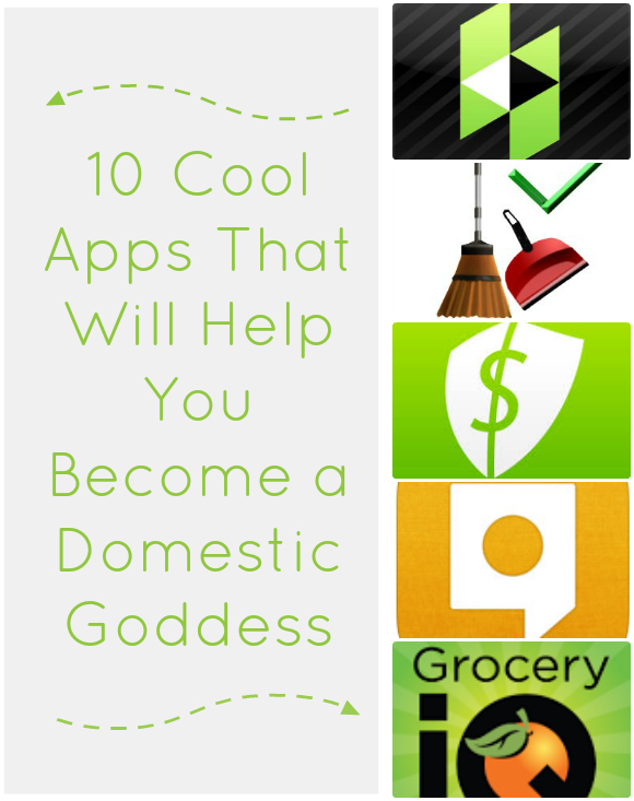 10 Apps That Will Help You Become a Domestic Goddess