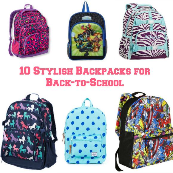 10 Stylish Backpacks for Back-to-School
