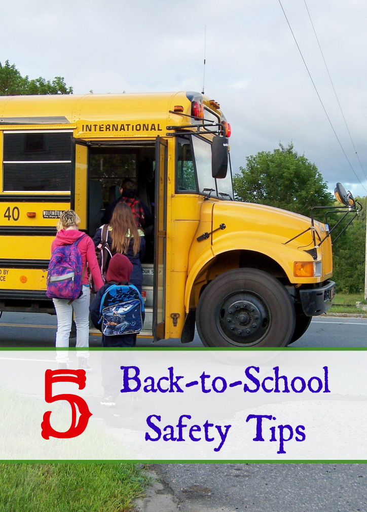 5 Back-to-School Safety Tips
