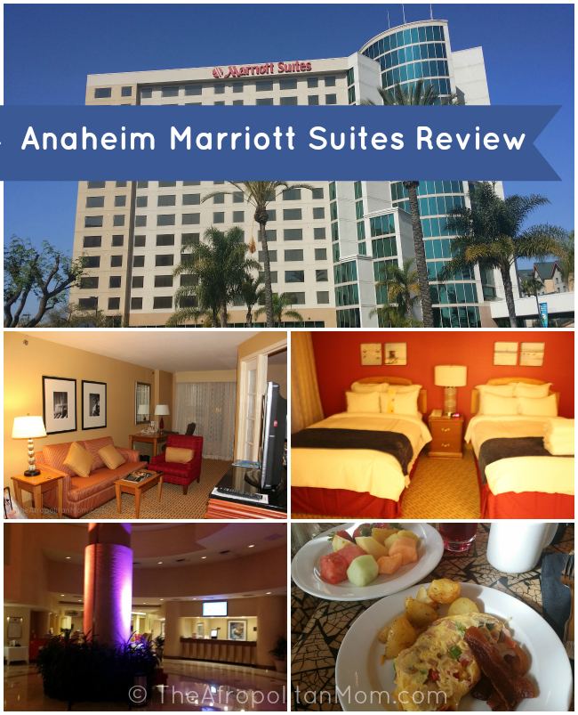 Anaheim Marriott Suites Review