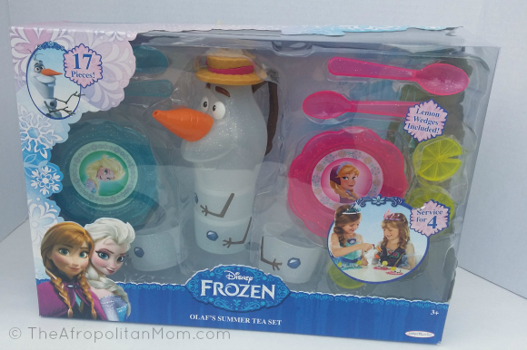Disney Frozen Olaf's Summer Tea Set #cbias