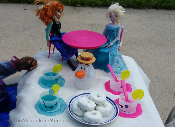 Disney #FrozenFun Summer Tea Party @cbias