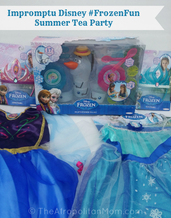 Impromptu Disney #FrozenFun Summer Tea Party #cbias