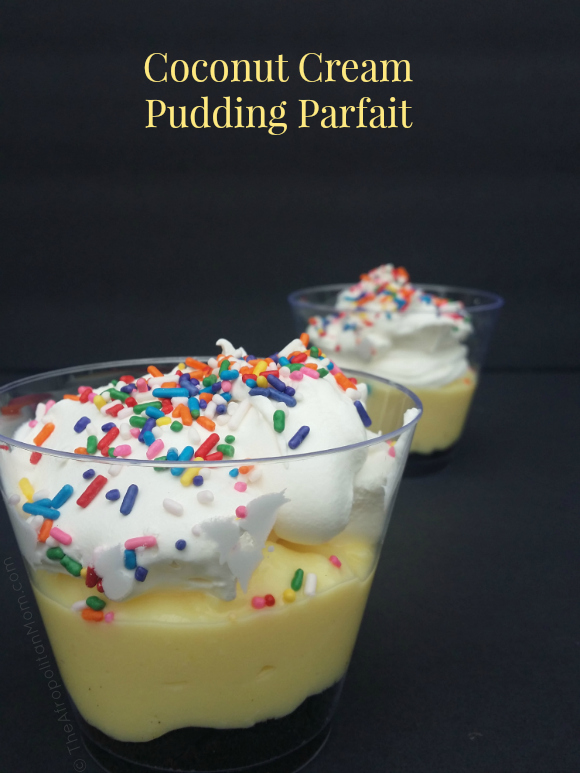 coconut cream pudding parfait recipe #AddCoolWhip #CollectiveBias