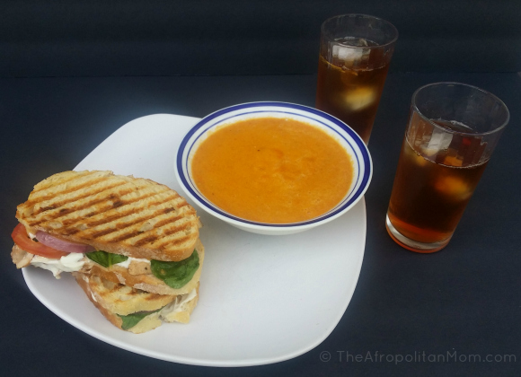 Chicken Panini #TEArifficPairs #cbias