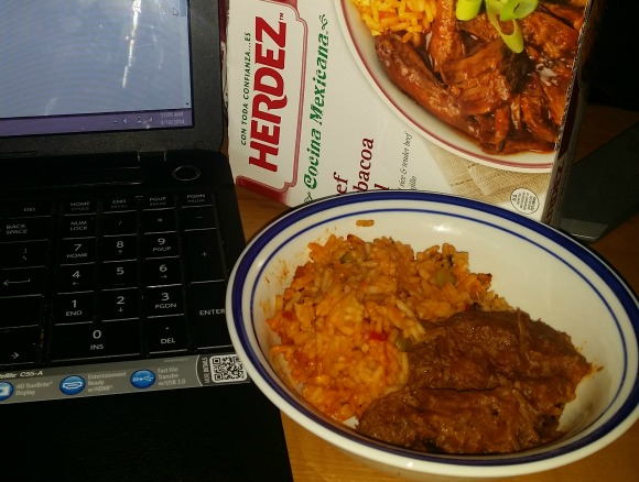 Easy lunch option with Herdez Cocina Mexicana