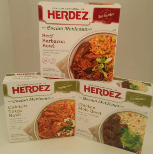 Herdez Cocina Mexicana Frozen Bowls
