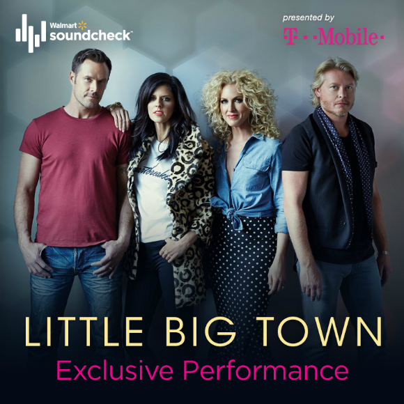 Little Big Town on Walmart Soundcheck #LittleBigTownWMSC #WMSoundcheck