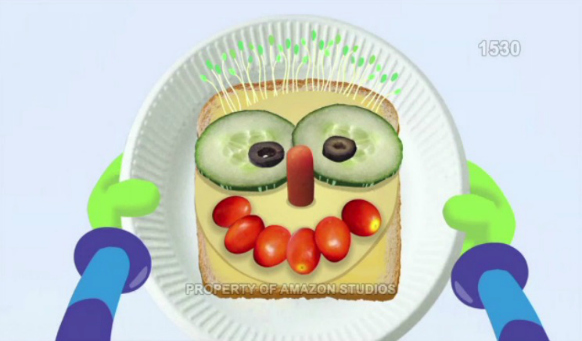 Silly Sandwich Monster