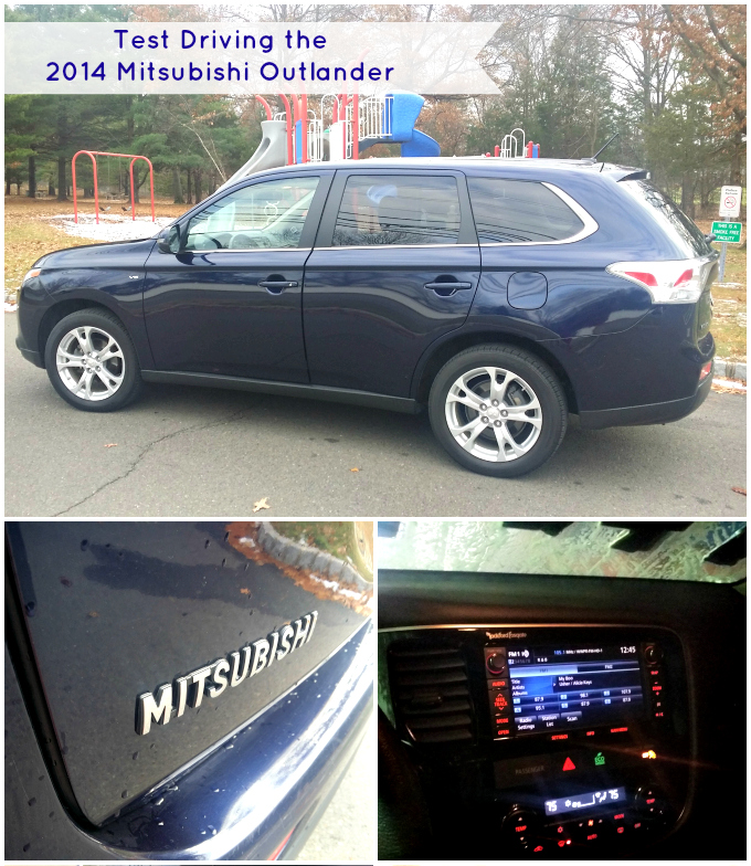 Test-Driving the 2014 Mitsubishi Outlander GT