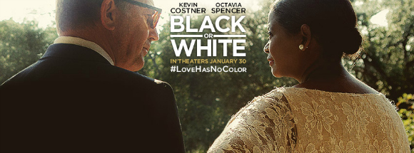 Trailer release for 'Black Or White'