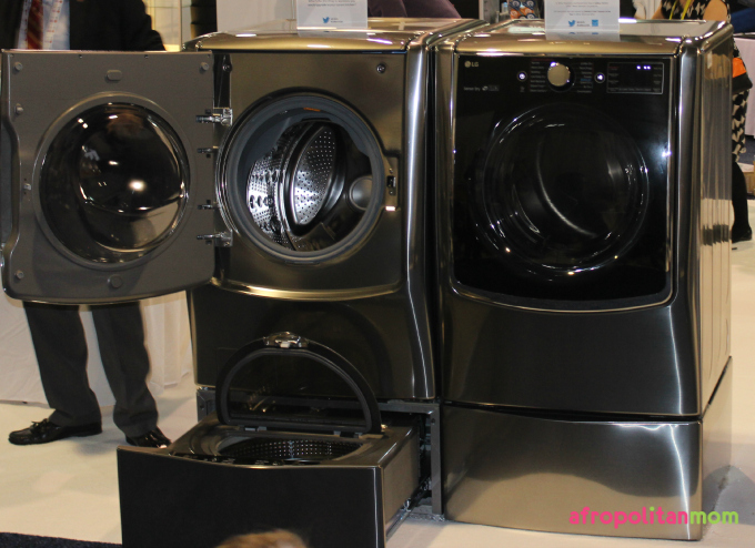 """LG Unveils Twin Wash System and Double """"Door-in-Door"""" Refrigerator at CES 2015"""