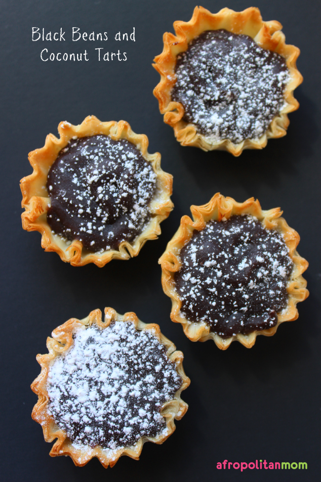 Black Beans and Coconut Tarts - Frejon