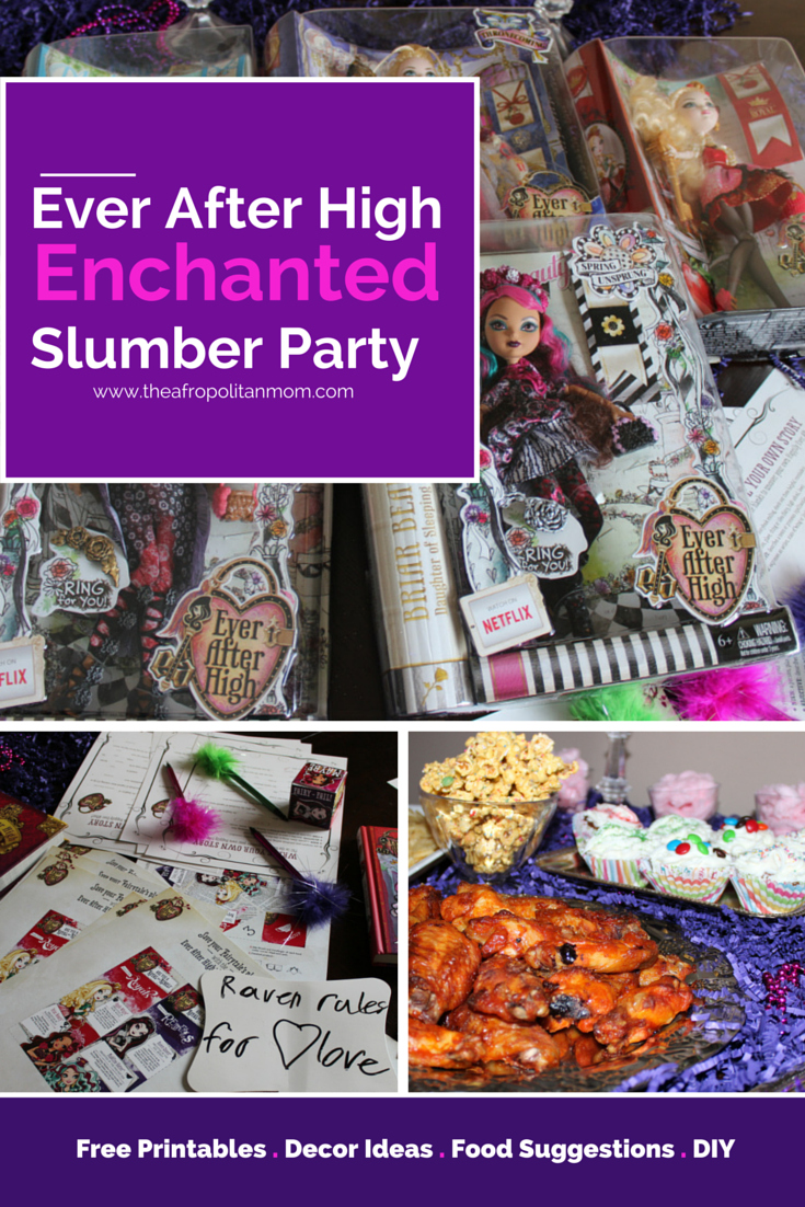 Ever After High: Spring Unsprung Enchanted Slumber Party with Printables