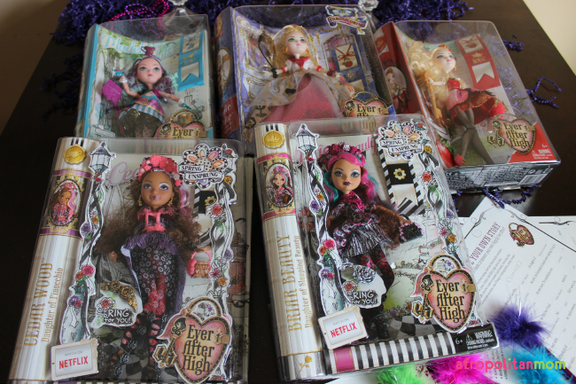 Ever After High Spring Unsprung Enchanted Slumber Party