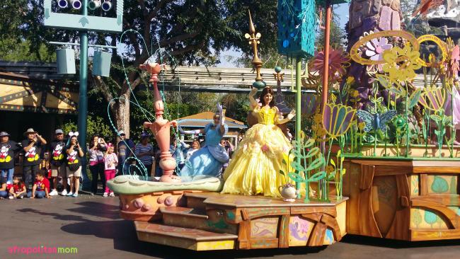 Princess Belle at the Disneyland Soundsational Parade