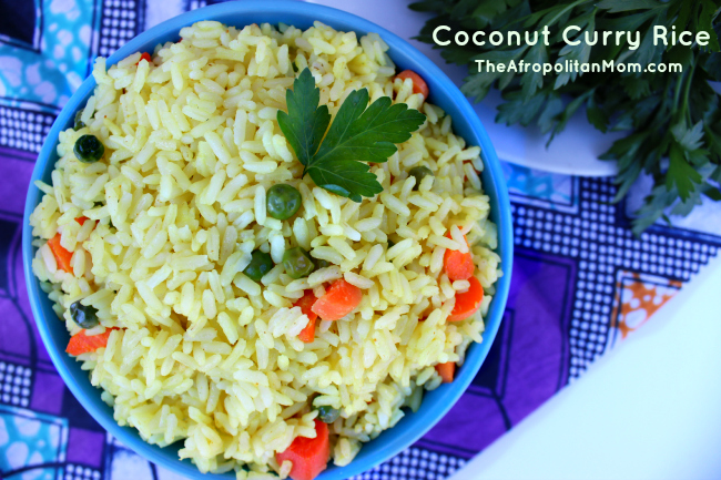 Coconut Curry Rice recipe