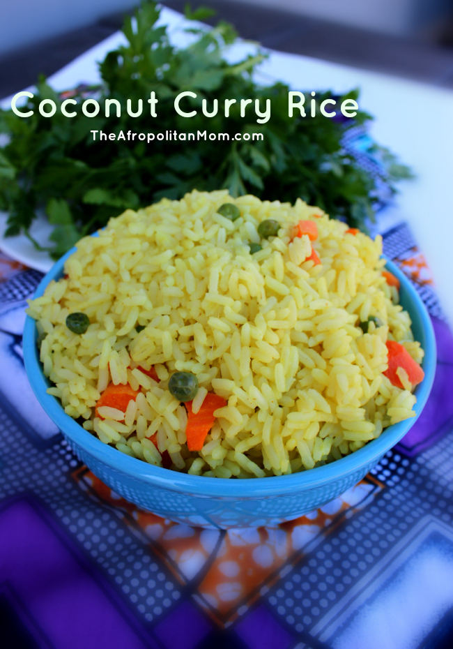 Coconut Curry Rice - Nigerian Coconut Rice
