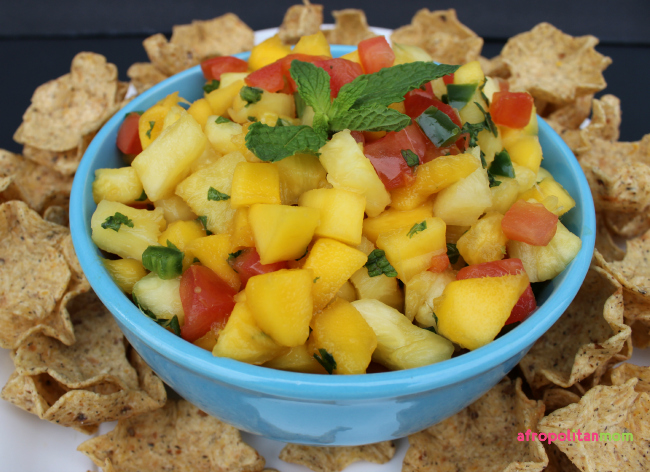 Pineapple & Mango Salsa Recipe
