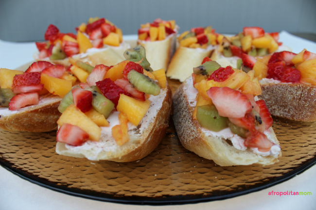 Summer Fruit and Goat Cheese Crostini-bruschetta1