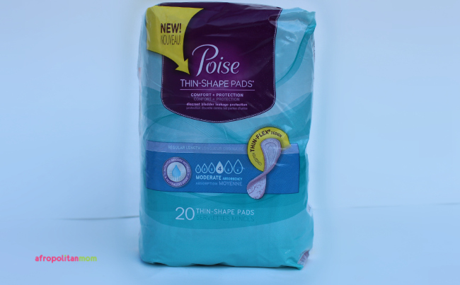 upscale period pad - poise recycle your period pad