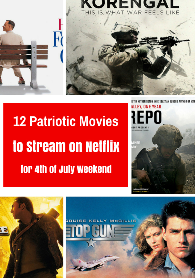 Movies to Stream on Netflix for Independence Day