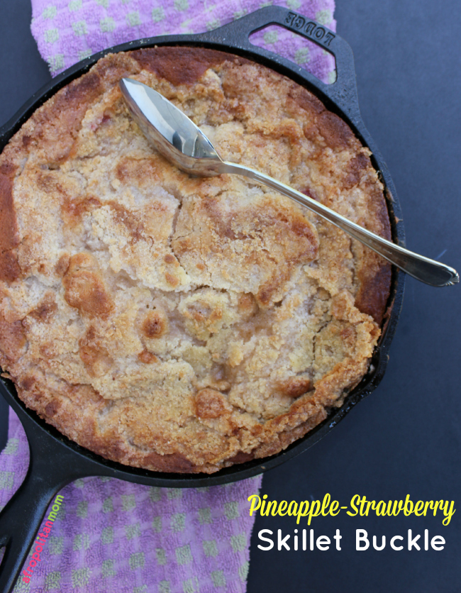 Pineapple-Strawberry Skillet Buckle