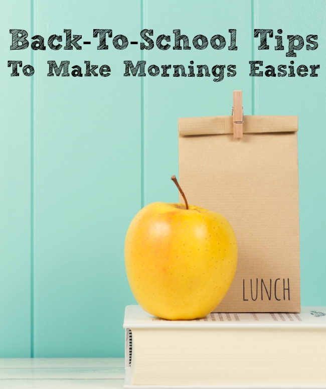 7 Back-To-School Tips To Make Mornings Easier