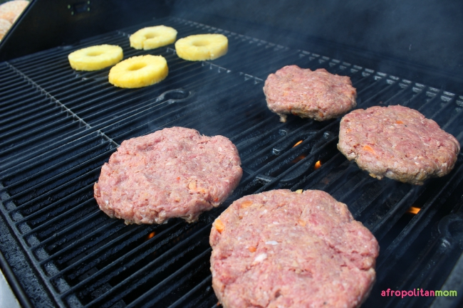Grilled Sweet Chili Ranch Burgers