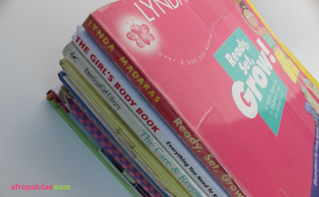 Puberty Books for Girls - Books to teach girls about puberty