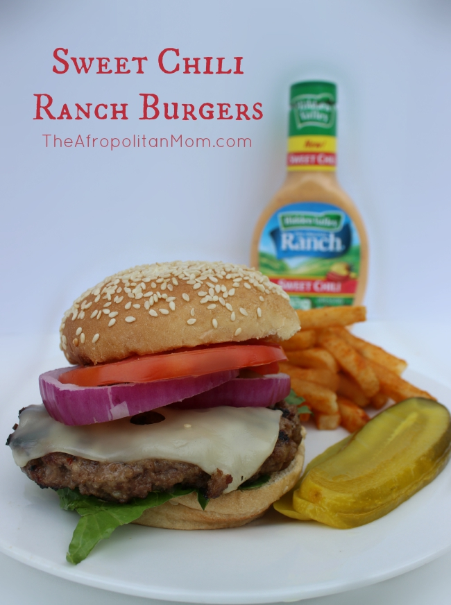 Sweet Chili Ranch Burgers