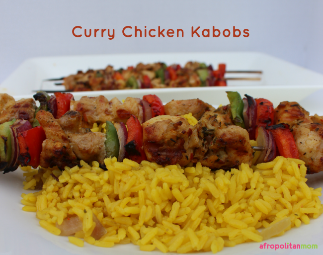 Easy Barbecue Recipes - Curry Chicken Kabobs