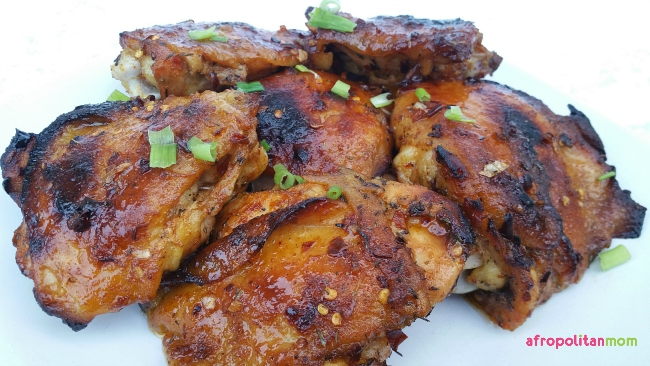 Honey Cajun Chicken Thighs Recipe