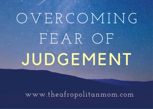 Overcoming Fear of Judgement