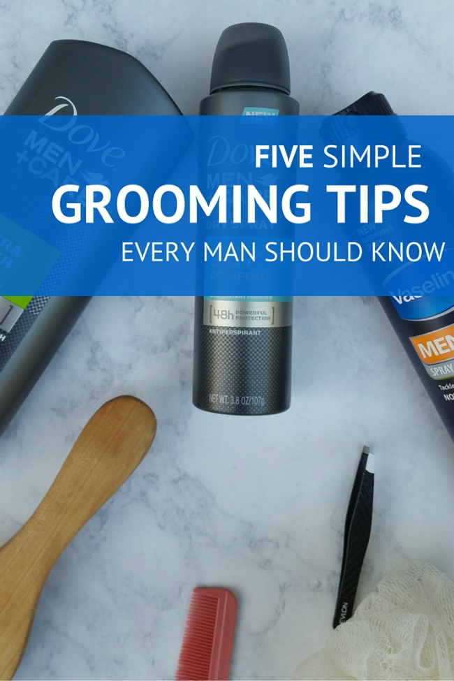 5 Simple Grooming Tips Every Man Should Know
