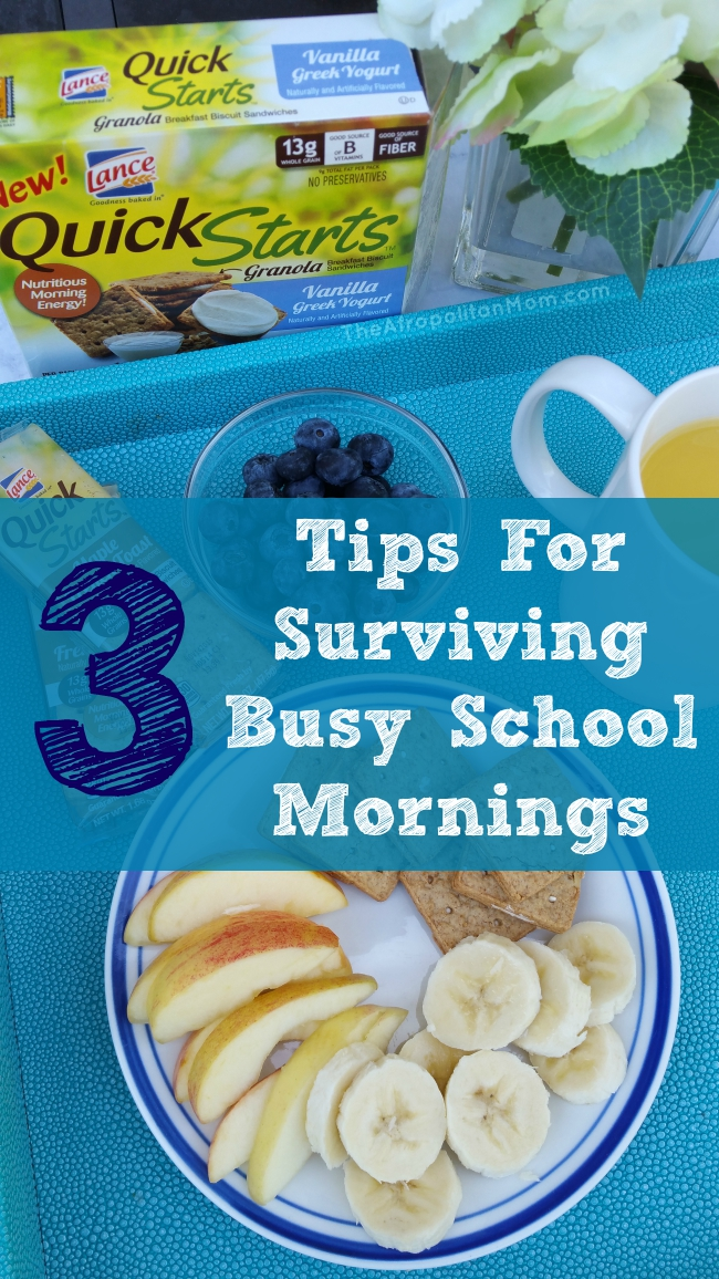 Tips For Surviving Busy School Mornings