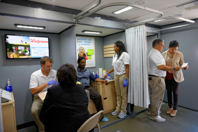 Free Health Screening - Walgreens Wellness Tour