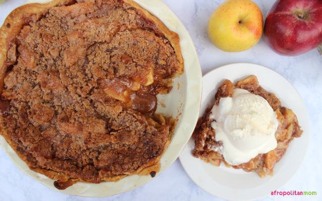 Streusel Topped Apple Pie