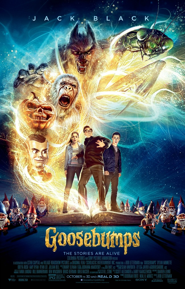 'Goosebumps' Movie Review
