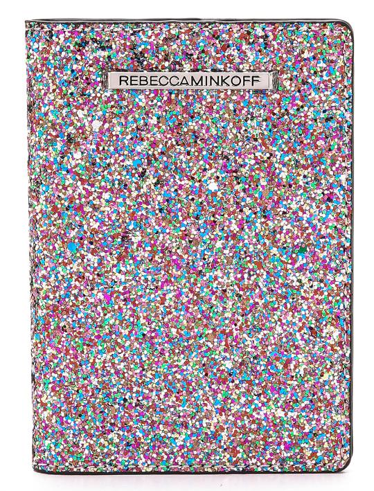 rebecca minkoff glitter passport case