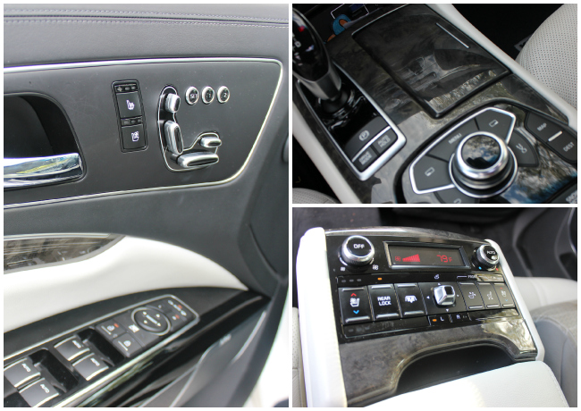 Kiaa K900 interior control system