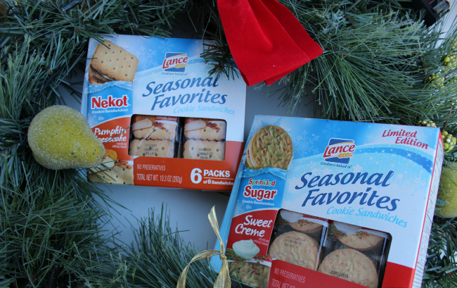 Lance Seasonal Favorites Cookie Sandwiches for the Holiday