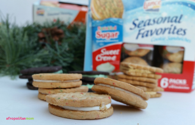 Lance Seasonal Favorites Cookie Sandwiches